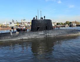 Tàu ngầm Argentina có thể đã nổ cực mạnh