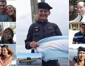 Hình ảnh thủy thủ đoàn trên tàu ngầm Argentina chở 44 người mất tích