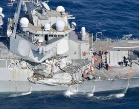 Tàu chiến Mỹ ở Nhật lại bị đâm thủng thân khi chưa kịp về nước sửa chữa