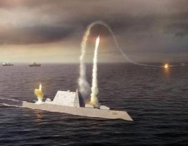 """Trung Quốc lo Mỹ đưa tàu khu trục """"khủng"""" tới Hàn Quốc"""