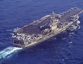 Tàu sân bay Mỹ áp sát Triều Tiên sau vụ phóng tên lửa