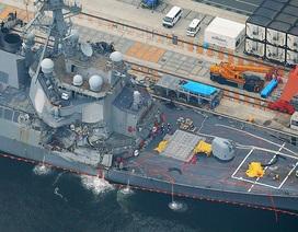 Chi tiết đáng ngờ trong vụ va chạm giữa tàu chiến Mỹ với tàu hàng Philippines