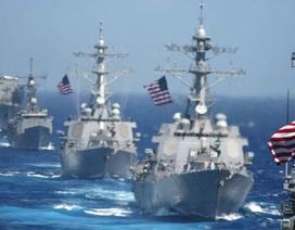 Tàu chiến Mỹ sẽ tăng cường hoạt động tại châu Á-Thái Bình Dương