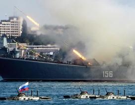 Nga điều khẩn cấp 3 tàu chiến tới biển Baltic theo sát tàu Mỹ