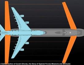 """Nga chế tạo tàu ngầm """"khủng"""", lớn gấp đôi siêu máy bay A380"""