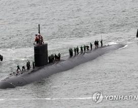 Mỹ điều tàu ngầm mang tên lửa Tomahawk tới bán đảo Triều Tiên