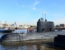 Tàu ngầm Argentina có thể đã vỡ tan bởi vụ nổ 5.000 tấn TNT