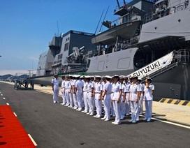 Chiến hạm hiện đại hàng đầu Nhật Bản thăm Cảng quốc tế Cam Ranh