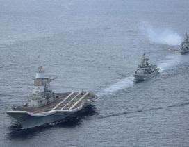 Ấn, Mỹ, Nhật điều 20 tàu tập trận chung phô diễn sức mạnh
