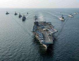 Máy bay ném bom Nga áp sát tàu sân bay Mỹ gần Triều Tiên