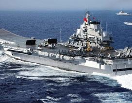 Trung Quốc xác nhận đưa tàu sân bay tập trận ở Biển Đông