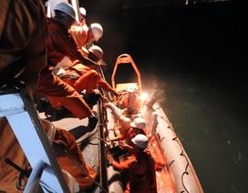 Tìm kiếm một thuyền viên tàu hàng rơi xuống biển mất tích