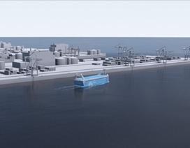 Nauy chế tạo tàu chở hàng không người lái đầu tiên trên thế giới