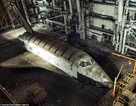 """Bên trong """"nghĩa địa"""" tàu con thoi của Nga trên sa mạc Kazakhstan"""