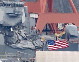 Chuyên gia: Tàu chiến Mỹ mất khả năng chiến đấu sau va chạm tàu hàng Philippines