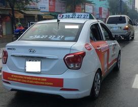 Vinasun hứa gỡ hết khẩu hiệu phản đối Grab, Uber trên xe