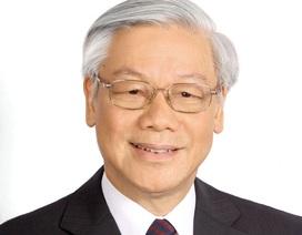Tổng Bí thư Nguyễn Phú Trọng sẽ thăm chính thức Trung Quốc ngày 12/1