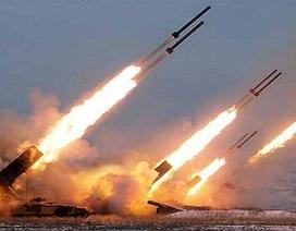 Tên lửa Triều Tiên nổ tung ngay khi rời bệ phóng