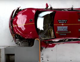 Tesla Model S không được xếp hạng an toàn cao nhất