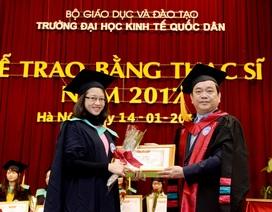 Thêm 838 tân Thạc sĩ Kinh tế nhận bằng tốt nghiệp năm 2017