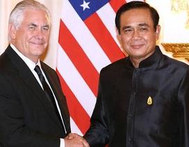 """Thủ tướng Thái sắp thăm Mỹ, """"hâm nóng"""" quan hệ song phương"""