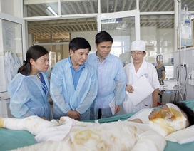 Vụ cháy xưởng bánh kẹo Hoài Đức: Hỗ trợ các nạn nhân gần 100 triệu đồng