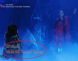 Diva Thanh Lam nói gì khi bị ghi nhầm tên trên sóng truyền hình?