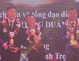Thành Lương lập kỷ lục lần thứ 4 đoạt Quả bóng vàng Việt Nam