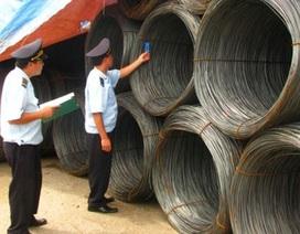 Báo động tình trạng tăng nhập sắt thép thành phẩm về Việt nam