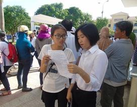 """Thi tuyển sinh vào lớp 10 tại Quảng Bình: Đề tiếng Anh khó, Văn """"dễ thở"""""""