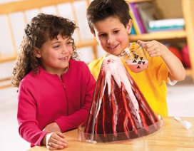 Cùng trẻ thực hiện thí nghiệm khoa học vui tại gia