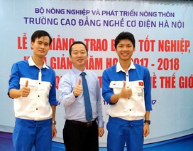 Hà Nội: Tuyển thí sinh dự Kỳ thi tay nghề thế giới làm giảng viên