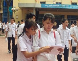 Đề thi trắc nghiệm môn Toán: Sẽ ít học sinh bị điểm liệt