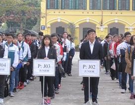 Hơn 800 học sinh tham dự kỳ thi Toán học Hà Nội mở rộng