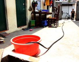 """Thi công 2 giếng nước ngầm """"cứu"""" hàng chục hộ dân khát nước sạch"""