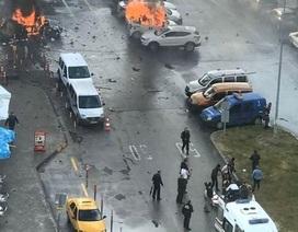 Đánh bom gần trụ sở tòa án tại Thổ Nhĩ Kỳ, ít nhất 4 người chết