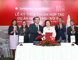 Ký kết thỏa thuận hợp tác phát triển dự án phát triển đô thị Nhật Tân – Nội Bài