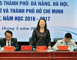 """Thứ trưởng Nguyễn Thị Nghĩa: """"Chất lượng giáo viên không chỉ là trình độ, mà còn cả đạo đức"""""""