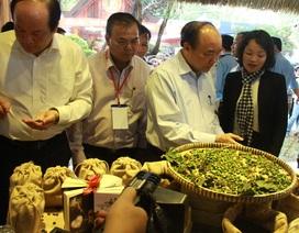 Thủ tướng Nguyễn Xuân Phúc ghé thăm Hội chợ triển lãm chuyên ngành cà phê