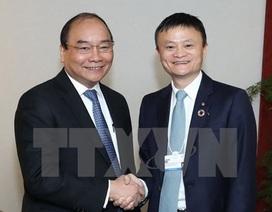 Thủ tướng đề nghị tỷ phú Jack Ma chia sẻ kinh nghiệm khởi nghiệp với doanh nghiệp Việt