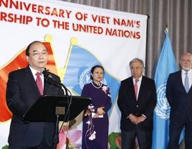 Thủ tướng dự Lễ kỉ niệm 40 năm Việt Nam gia nhập Liên hợp quốc