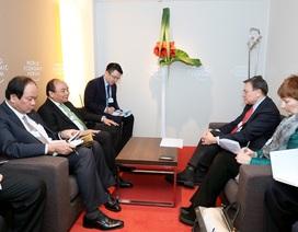 Thủ tướng kết thúc chuyến công tác tại hội nghị WEF Davos