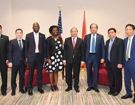 Những hoạt động đầu tiên của Thủ tướng Nguyễn Xuân Phúc tại Washington D.C