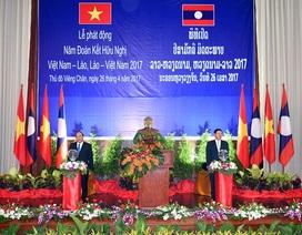"""Thủ tướng Việt – Lào phát động """"Năm đoàn kết hữu nghị 2017"""""""