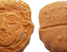 Đức tịch thu 5.000 viên thuốc lắc có hình giống ông Trump