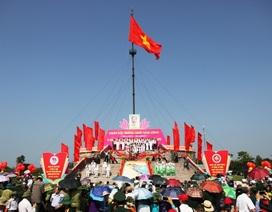 Quảng Trị tổ chức lễ Thượng cờ mừng 42 năm thống nhất non sông