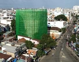 Phá dỡ thuỷ đài tại TPHCM: Khoan xong phần nắp thủy đài cao 30 mét