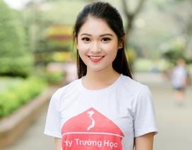 Á hậu Thuỳ Dung cùng sinh viên gây quỹ xây trường giúp trẻ em nghèo