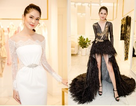 Á hậu Thuỳ Dung gấp rút chuẩn bị trang phục cho Hoa hậu Quốc tế 2017
