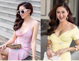 Diễn viên, MC Thùy Trang trễ nải khoe vai trần, vòng 1 bốc lửa